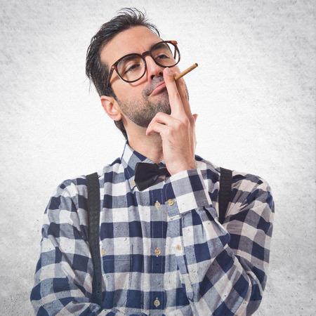 posh: Posh boy smoking
