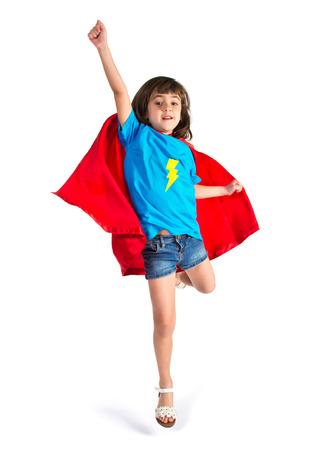 flay: Girl dressed like superhero