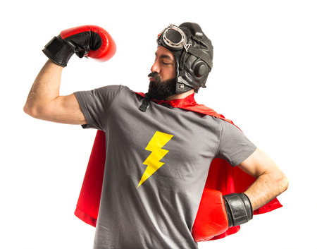 Strong super hero Stock Photo - 40412212