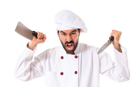 assasin: Chef fighting with knives
