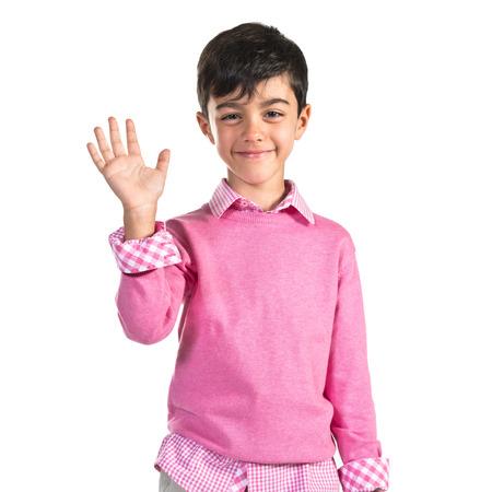 personas saludando: chico