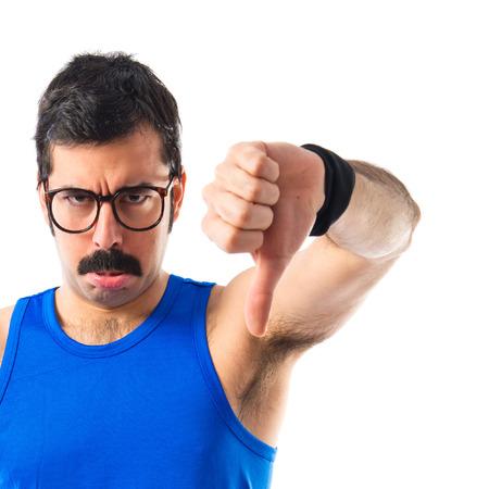 sportman: Sportman doing bad signal