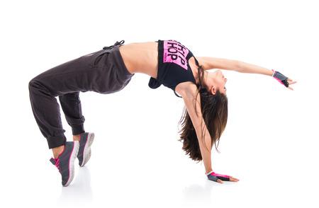 danza contemporanea: Muchacha del adolescente bailando hip hop