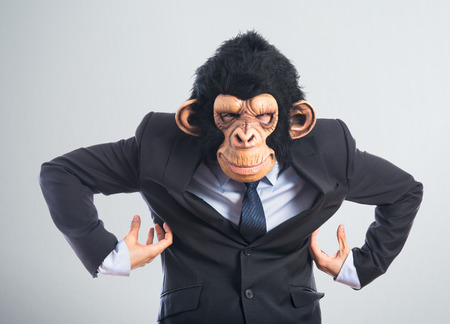 Monkey man photo