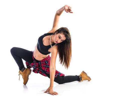 baile hip hop: Chica street dance baile