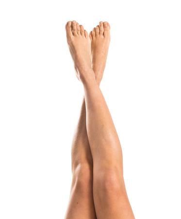 De benen van vrouw