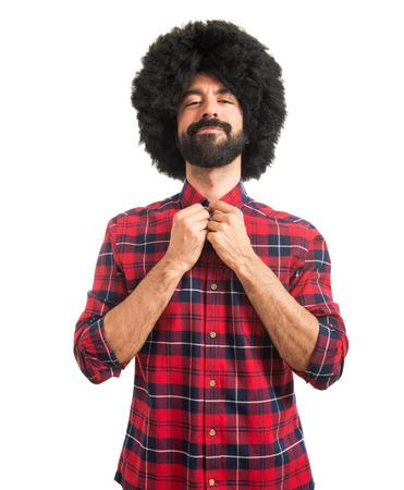 afro man: Afro man