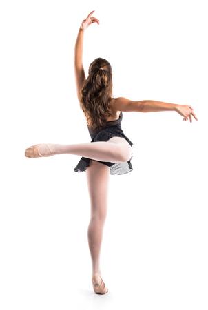 ballet niñas: Adolescente bailarina de ballet Foto de archivo