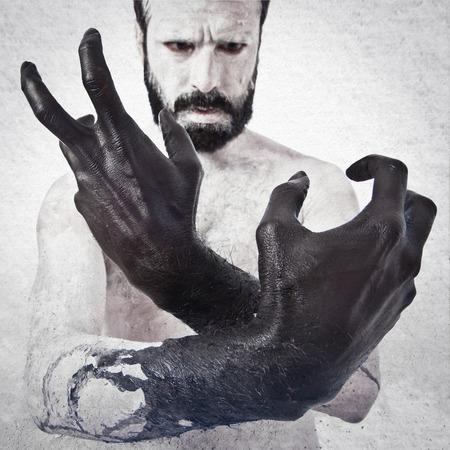 satanism: Black hands