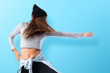 chicas bailando: Chica bailando hip hop