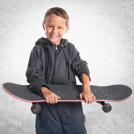 whit: Kid whit his skate