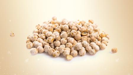 garbanzos: Roasted chickpeas