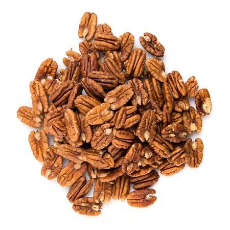 Pecans nuts Stock Photo