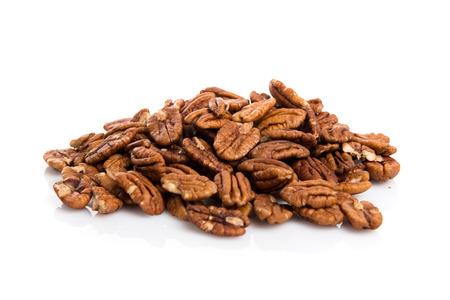 Pecans nuts Standard-Bild
