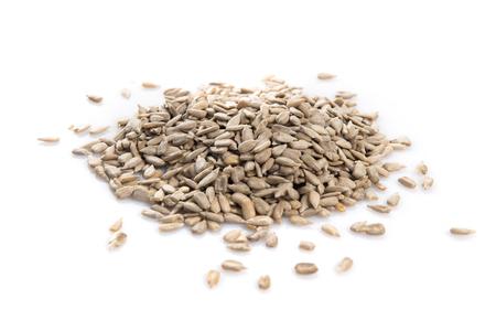 girasol: semillas de girasol en bruto Foto de archivo