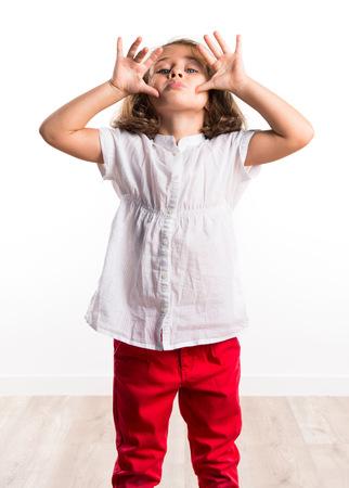joke: Girl making a joke