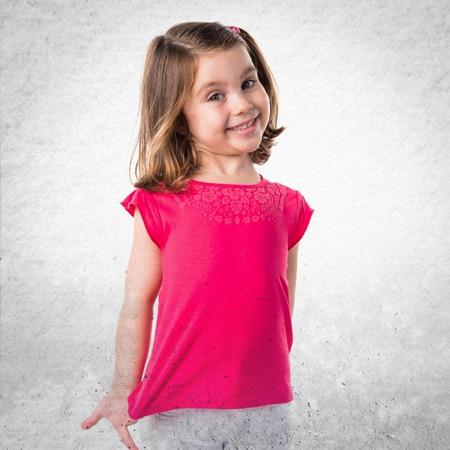 blonde hispanic: Cute kid Stock Photo