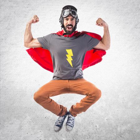 strong: Strong Superhero Stock Photo