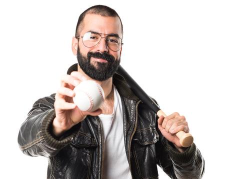 pimp: Pimp man playing baseball