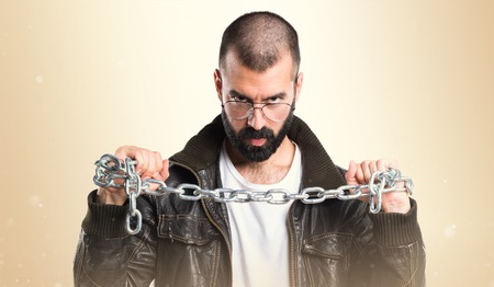 pimp: Pimp man with chains
