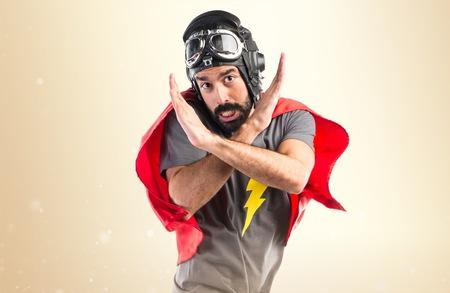 comunicacion no verbal: Superhero hacer ningún gesto