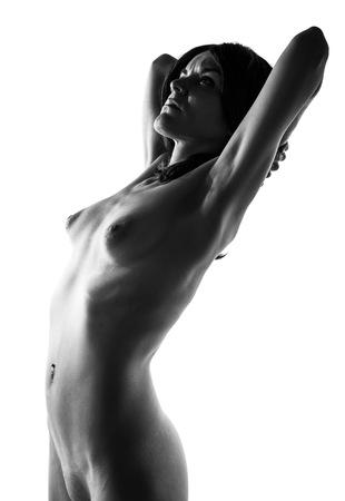 desnudo artistico: desnudo art�stico en blanco y negro