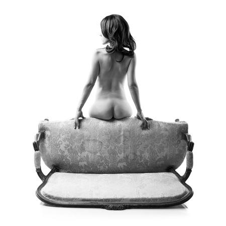 Artistique femme nue