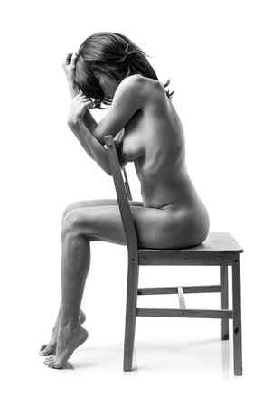 desnudo artistico: Mujer desnuda art�stica