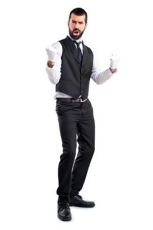 winner man: Lucky luxury waiter