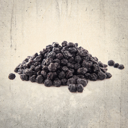 dehydrated: Sweet dehydrated black blueberry