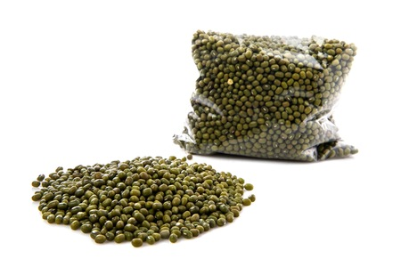 soybeans: Green soybeans Stock Photo