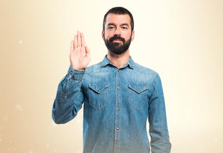 oath: Man doing oath