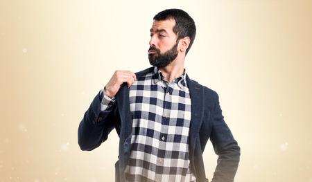 handsome men: L'uomo orgoglioso di se stesso Archivio Fotografico