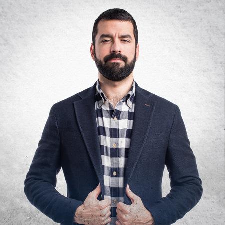 hombre flaco: Hombre hermoso Foto de archivo