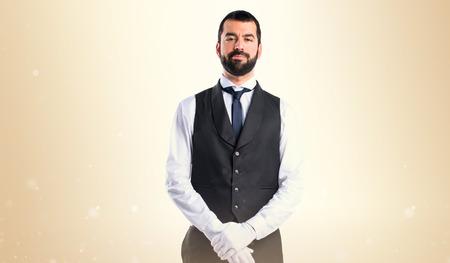 hotel staff: Luxury waiter