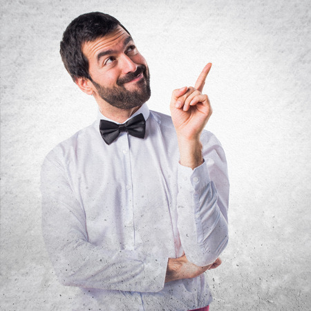 hotel staff: Waiter thinking