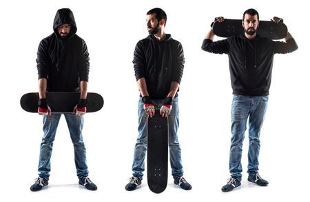 skater: Skater man Stock Photo