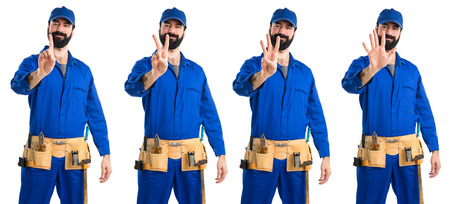 counting five: Plumber counting five