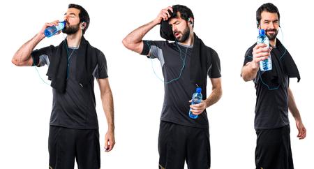 sportman: Tired sportman
