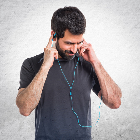 sportman: Sportman listening music