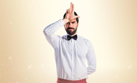stupid: Waiter stupid sign