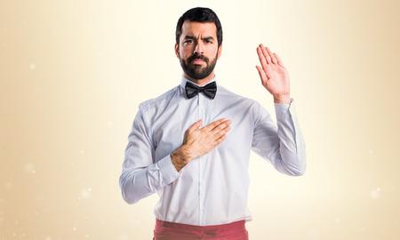 oath: Waiter doing oath
