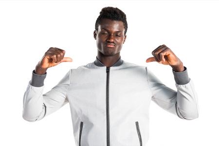 garcon africain: Homme fier de lui
