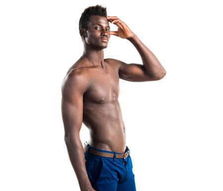 Handsome black man pictures