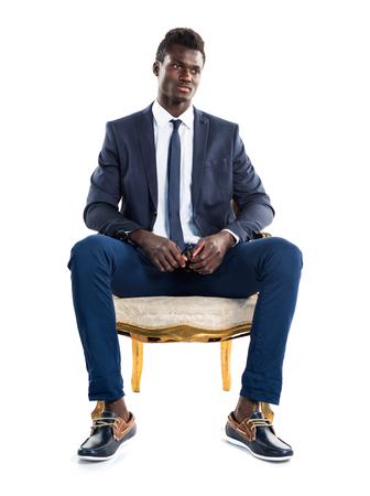 ethnicity: Handsome business black man