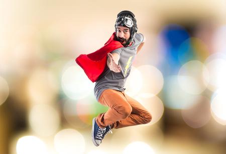saluting: Superhero saluting