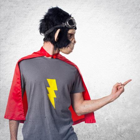 primeval: Superhero monkey man shouting