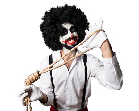 Killer clown  with slipknot