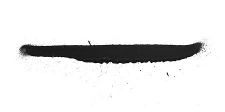 Freehand simple spray paint graffiti texture. Ink element grunge design.