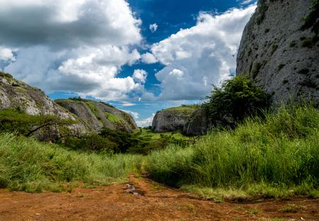 The Black Rocks of Pungo Andongo, Angola